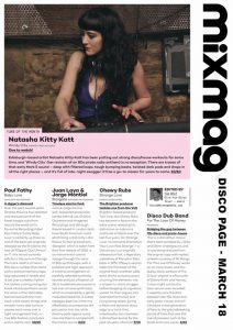 Natasha Kitty Katt mixmag