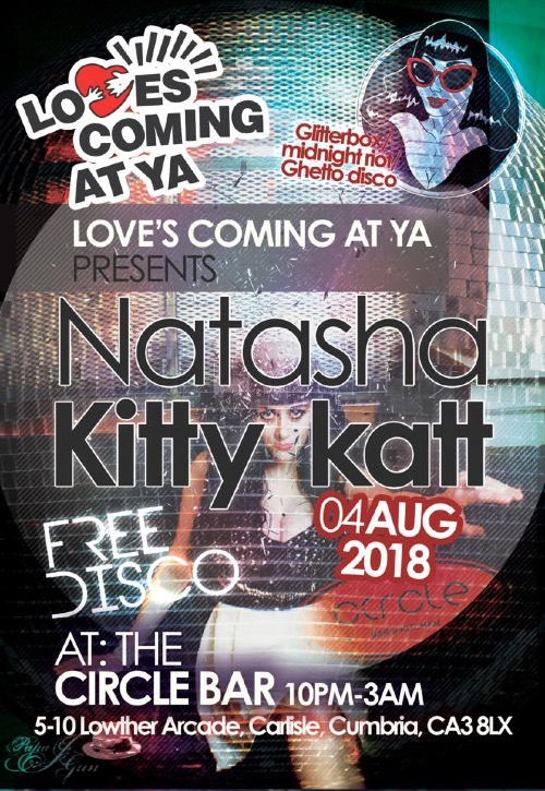 Loves Coming At Ya - Natasha Kitty Katt