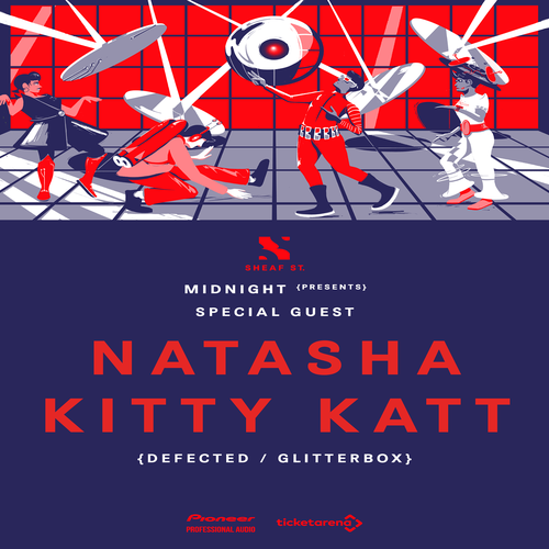 Midnight NYE Leeds Natasha Kitty Katt