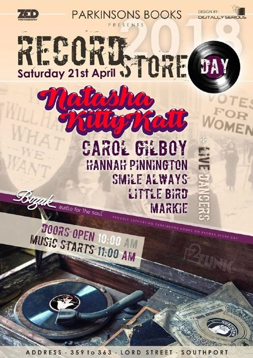 Natasha Kitty Katt - Record Store Day